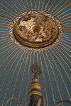 Istanbul, Turkey: ablutions fountain - roof interior - Hagia Sophia - Saint Sophia / Ayasofya / Haghia Sophia - photo by M.Torres