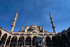 Istanbul, Turkey: Blue mosque - view from the courtyard - Sultan Ahmet Camii - photo by M.Torres