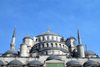 Istanbul, Turkey: the Blue mosque - domes - Sultan Ahmet Camii - photo by M.Torres