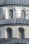 Istanbul, Turkey: Blue mosque - windows - Sultan Ahmet Camii - photo by M.Torres