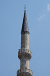 Istanbul, Turkey: New mosque - minaret - yeni cami - Eminonu - photo by J.Wreford