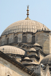 Istanbul, Turkey: New mosque - dome - yeni cami - Eminonu - photo by J.Wreford