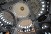 Istanbul, Turkey: New mosque - interior - yeni cami - Eminonu - photo by J.Wreford