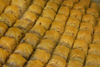 Istanbul, Turkey: Turkish sweets - S�tl� Nuriye - baklava with a milky syrup - photo by M.Torres