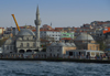 Istanbul, Turkey: Mihrimah Sultan Mosque seen from the Bosphorus - Üsküdar District - photo by M.Torres