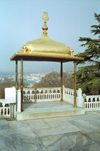 Istanbul, Turkey: Topkapi palace - panoramic gazebo - photo by S.Lund