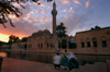 Urfa / Edessa / Sanliurfa, Southeastern Anatolia, Turkey: pool of Sacred Fish and Halil-ur-Rahman mosque - Gölbasi park - photo by J.Wreford