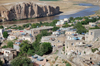 Hasankeyf / Heskif, Batman Province, Southeastern Anatolia, Turkey: residential area and the river Tigris - photo by W.Allgöwer