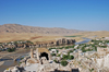 Hasankeyf / Heskif, Batman Province, Southeastern Anatolia, Turkey: the town and the Tigris seen from the citadel - photo by W.Allgöwer
