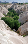 Cappadocia - G�reme, Nevsehir province, Central Anatolia, Turkey:  Sabre valley - photo by W.Allg�wer