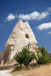 Cappadocia - G�reme, Nevsehir province, Central Anatolia, Turkey: El Nazar church - photo by W.Allg�wer