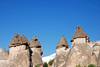 Cappadocia - G�reme, Nevsehir province, Central Anatolia, Turkey: fairy chimneys in the Valley of the Monks - Pasabagi Valley- photo by W.Allg�wer