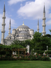 Turkey - Istanbul / Constantinople / IST: the Blue Mosque - Sultan Ahmet - photo by R.Wallace