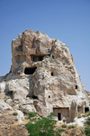 Cappadocia - G�reme, Nevsehir province, Central Anatolia, Turkey: Open Air Museum - troglodyte homes - photo by W.Allg�wer