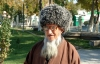 Turkmenistan - Ashghabat: old man with traditional hat - photo by G.Karamyanc