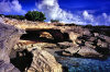 Providenciales - Turks and Caicos: caves along the shoreline - photo by L.Bo
