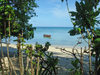 Funafuti atoll, Tuvalu: view of the lagoon side - photo by G.Frysinger