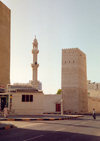 UAE - Sharjah: tower and minaret - Heritage District - photo by M.Torres