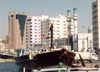 UAE - Sharjah: waterfront - dhow and mosque - Corniche Rd - photo by M.Torres