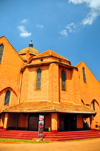 Kampala, Uganda: exterior of St. Paul's Anglican Cathedral, Namirembe hill - photo by M.Torres