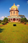 Kampala, Uganda: Baha'i Temple on Kikaaya Hill - from the lawns - photo by M.Torres