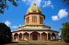 Kampala, Uganda: Baha'i Temple on Kikaaya Hill - green domed building - architect Charles Mason Remey - Bahá'í House of Worship - photo by M.Torres