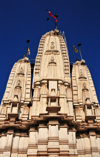 Kampala, Uganda: Hindu Temple with triple gopuram tower - Shree Sanatan Dharma Mandal, Sikh road and Snay Amir Street - photo by M.Torres