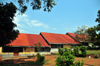Entebbe, Wakiso District, Uganda: red roofed houses on Hill Road - photo by M.Torres