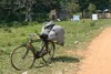 Uganda - Bugala island - Ssese Islands - bike waiting for the ferry - Lake Victoria - Kalangala District - photo by E.Andersen