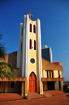 Kampala, Uganda: Christ the King Church - Roman Catholic temple, Colville Street at Kimathi avenue - photo by M.Torres
