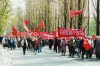 Kiev / Kyiv: May Day parade - an event for the elderly (photo by G.Frysinger)