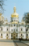 Ukraine - Kiev / Kyiv: the rebuilt Dormition cathedral - Pechersk Lavra Monastery - Unesco world heritage site (photo by G.Frysinger)