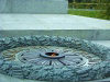 Kiev: eternal flame - unknown soldier monument - Great Patriotic War / WWII (photo by D.Ediev)
