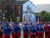 Ulster - Northern Ireland - Belfast: Orange March - band (photo by R.Wallace)