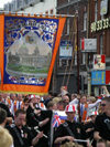 Ulster - Northern Ireland - Belfast: Orange march - Sons of Belfast - Lodge 743 (photo by R.Wallace)
