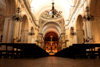 Montevideo, Uruguay: nave of the Cathedral - Catedral Metropolitana - photo by A.Chang