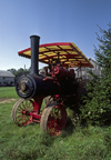 Kettle Moraine State Forest, Wisconsin, USA: Old World Wisconsin - historic steam engine tractor - photo by C.Lovell