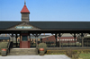 Dearborn, Michigan, USA: railway station in Greenfield Village – Main Street - photo by C.Lovell