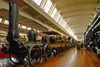 Dearborn, Michigan, USA: operational reproduction of the DeWitt Clinton steam locomotive and train - Mohawk and Hudson Railroad - Henry Ford Museum- photo by C.Lovell
