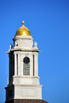 Boston, Massachusetts, USA: spire at the Traffic Tunnel Administration Building - downtown - North Street - neoclassical style - photo by M.Torres