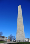 Boston, Massachusetts, USA: Charlestown - Bunker Hill Monument - the colonial rebels were defeated by the European forces - Siege of Boston - photo by M.Torres