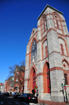 Boston, Massachusetts, USA: Charlestown - St Mary's Catholic Church - Warren Street - architect Patrick Charles Keely - photo by M.Torres