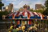 Boston, Massachusetts, USA: carousel in the Boston Common, park and garden completed in 1837 - photo by C.Lovell