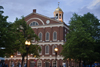 Boston, Massachusetts, USA: Faneuil Hall is a market place and meeting hall built in 1742 - designed by John Smibert and Charles Bulfinch - photo by C.Lovell