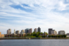 Boston, Massachusetts, USA: Boston skyline as seen from the Charles River - photo by C.Lovell