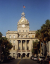 Savannah / SAV: City Hall - architect Hyman Wallace (photo by M.Torres)