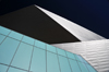 Denver, Colorado, USA: Denver Art Museum - Frederic C. Hamilton building - deconstructivism inspired in geometric rock crystals - designed by Studio Daniel Libeskind and Davis Partnership Architects - photo by M.Torres