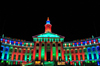 Denver, Colorado, USA: Denver City and County Building - Christmas lights - Allied Architects - Robert K. Fuller and Associated Architects - photo by M.Torres