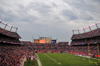 Denver, Colorado, USA: Invesco Field at Mile High football stadium - general view of the interior - cloudy afternoon - photo by M.Torres
