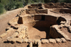 Mesa Verde National Park, Montezuma County, Colorado, USA: kiva - round room for religious rituals - kachina belief system - old indian house, Far View Archeological Site - mesa-top ruins - photo by A.Ferrari